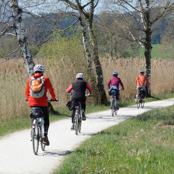 Fahrradtour-Gruppe