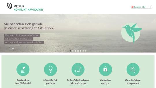 Demovideo: vertrauliche Fallanalyse mit dem Konflikt-Navigator