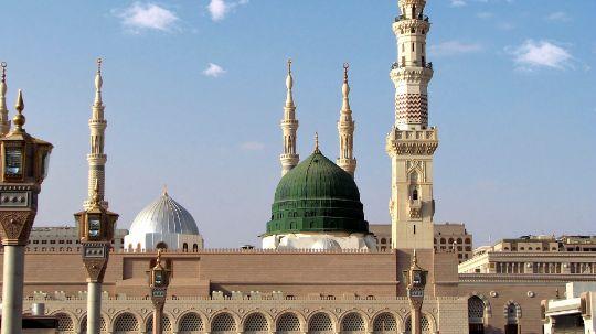 Medina, Grüne Kuppel, Prophetenmoschee