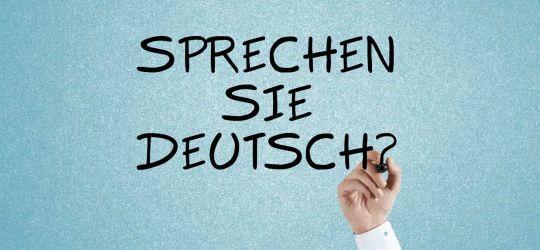 """Visualisierung der häufig gestellten Frage """"Sprechen Sie Deutsch"""" an Lernende von Deutsch als Fremdsprache"""
