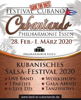 """Festival Cubaniando"" in der Philharmonie Essen"