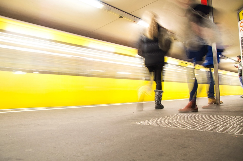 U-Bahn Berlin - ankofoto