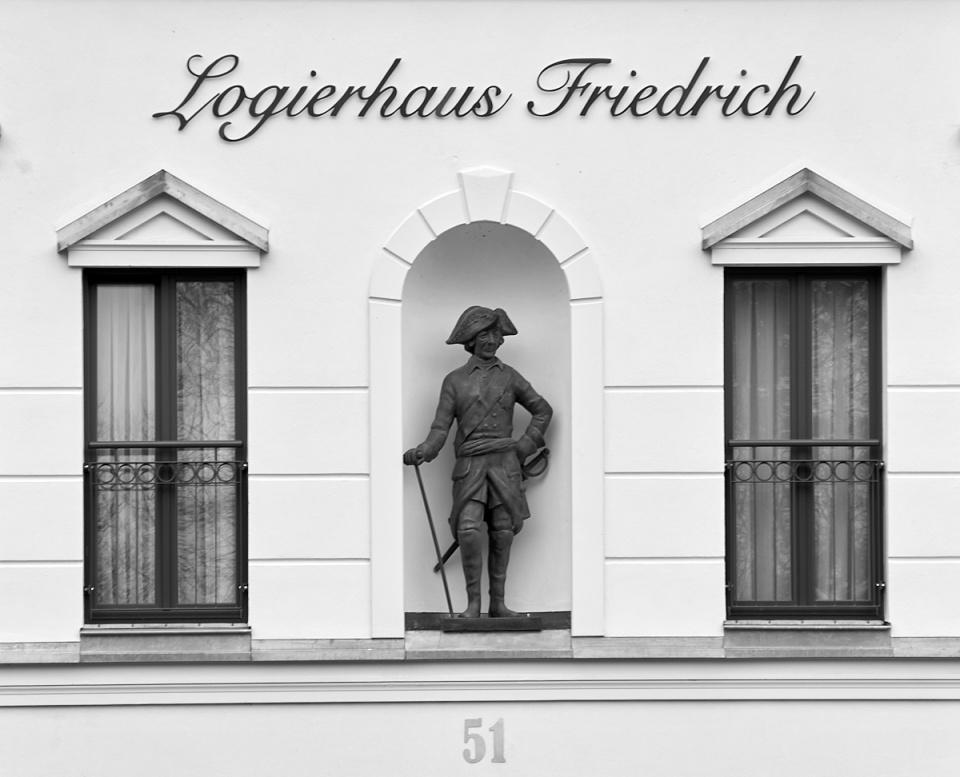 Hausfront - Alter Fritz - Zingst - ankofoto
