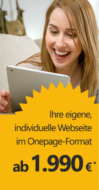 Angebot Webseite - Onpager